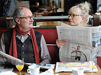 Jim Broadbent and Lindsay Duncan star in Le Week-End.