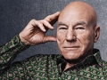 Sir Patrick Stewart in New York on December 19th, 2013.