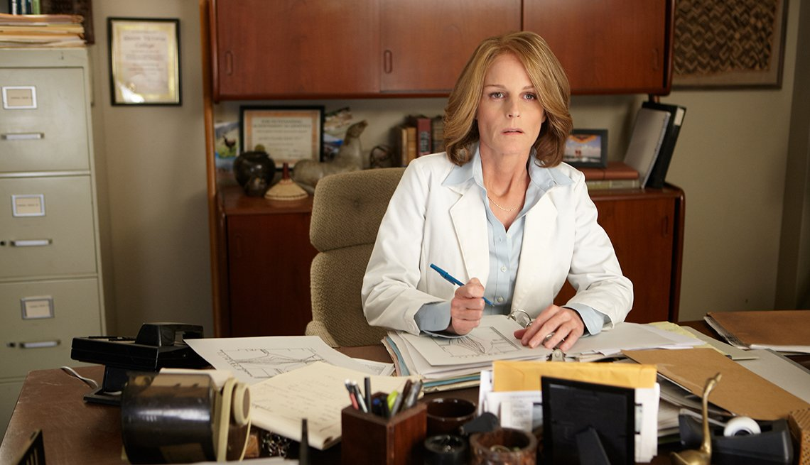 Helen Hunt, Decoding Annie Parker, movie review