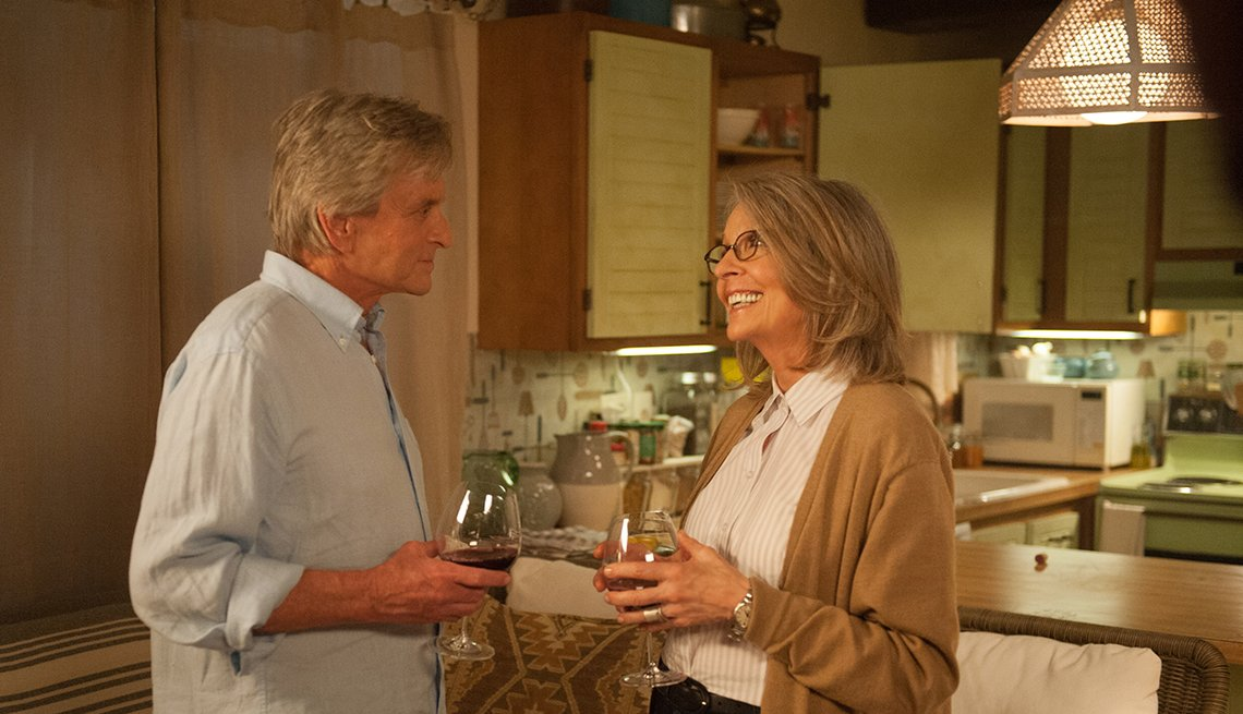 Diane Keaton, Michael Douglas, And So It Goes, movie review