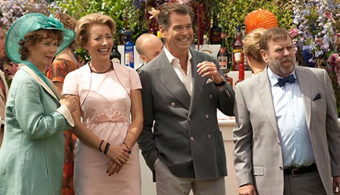 Emma Thompson, Pierce Brosnan, The Love Punch, Summer Movie Preview