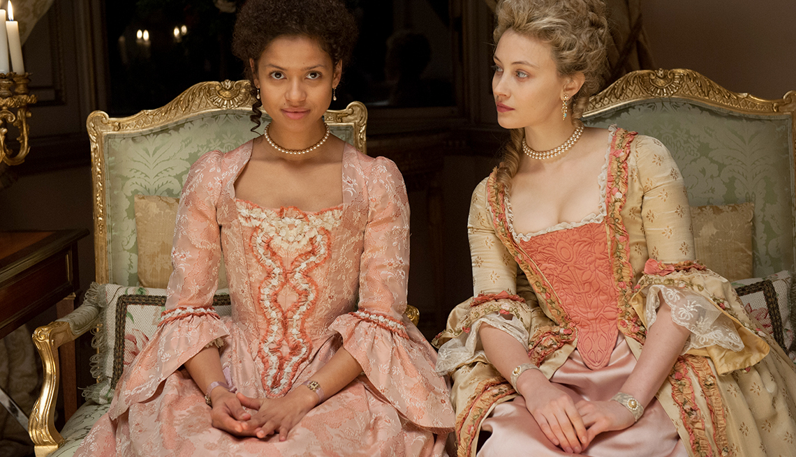 Gugu Mbatha-Raw, Sarah Gadon, Amma Asante, Belle, movie review