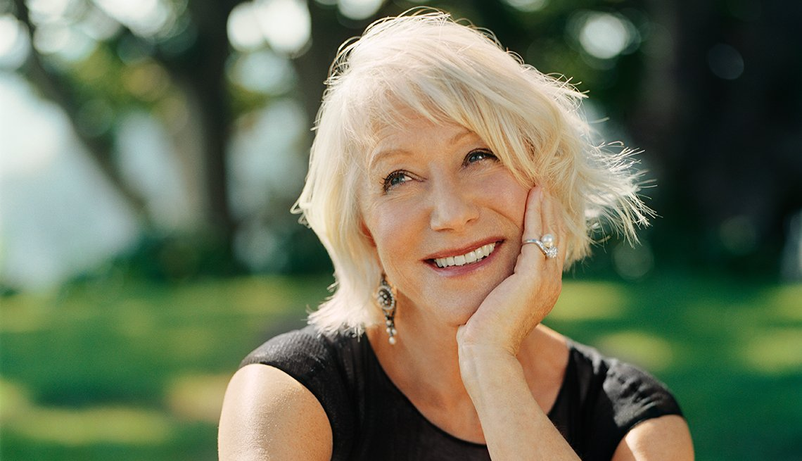 Actress Helen Mirren, Portrait, AARP Interview