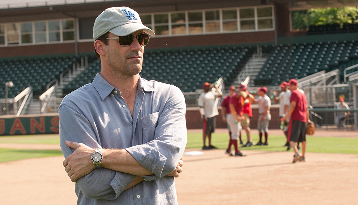 Jon Hamm, Million Dollar Arm, movie review