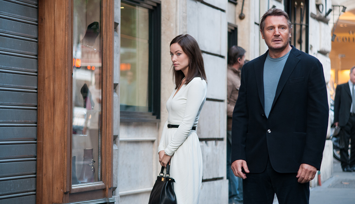 Olivia Wilde, Liam Neeson, Third Person, Movies