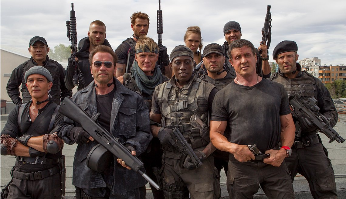 Sylvester Stallone, Arnold Schwarzenegger, The Expendables, Summer Movie Preview