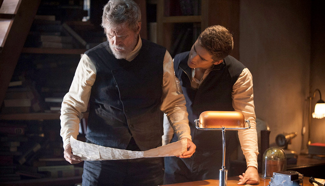 Jeff Bridges, Brenton Thwaites, The Giver