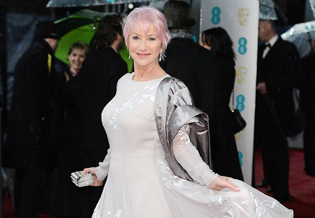 mirren helen british actress entertainment movies grownups interview pink hair