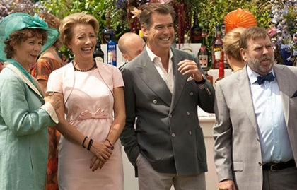 Emma Thompson and Pierce Brosnan star in The Love Punch.
