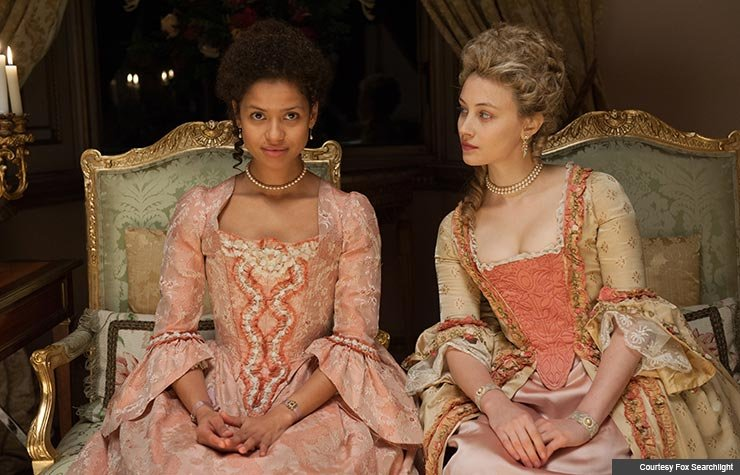 Gugu Mbatha-Raw and Sarah Gadon star in Amma Asante's Belle.
