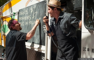 Jon Favreau and John Leguziamo star in Chef.