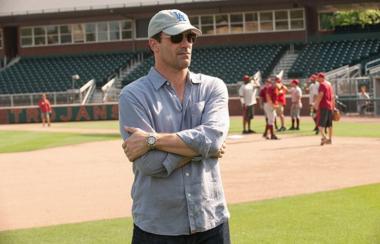 Jon Hamm stars in Million Dollar Arm.