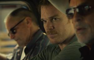 Don Johnson, Sam Shepard and Michael C. Hall star in Cold in July.