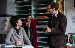 Clive Owen and Juliette Binoche star in Words and Pictures.