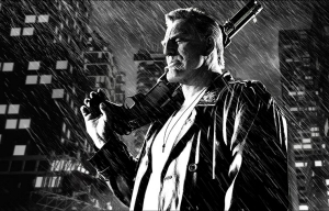 Mickey Rourke stars in Frank Miller's Sin City: A Dame to Kill For.