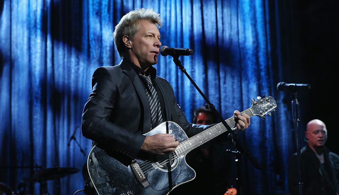 Singer, On Stage, Performance, Jon Bon Jovi, Celebrities From New Jersey, Jersey Boys