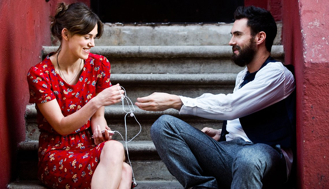 Keira Knightley, Adam Levine, Begin Again, movie review