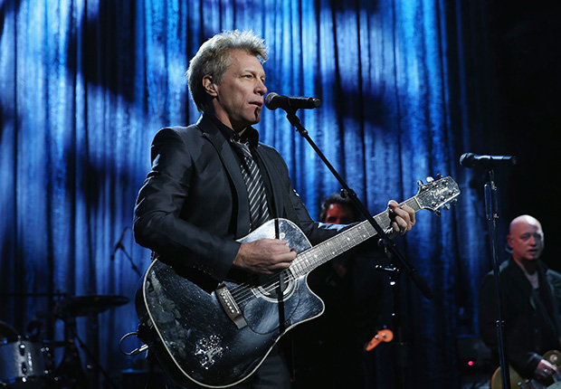 Jon Bon Jovi, a Slideshow of Cool Jersey Boys.