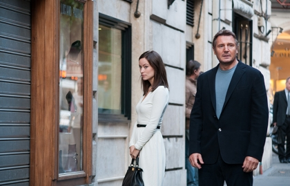 Olivia Wilde and Liam Neeson star in Third Person.