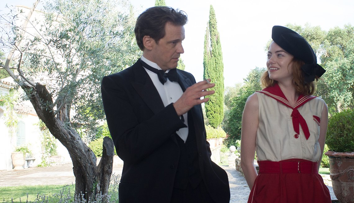 Colin Firth, Emma Stone, Magic in the Moonlight, movie review