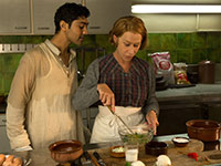 Manish Dayal and Helen Mirren Star in The Hundred Foot Journey.