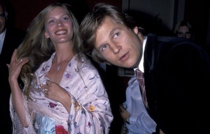 Jeff Bridges with his wife Susan Geston