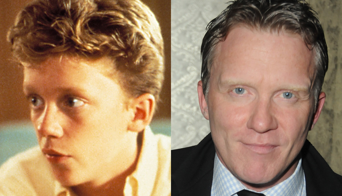 Anthony Michael Hall, Actor, The 80s, Portrait, The Brat Pack Then And Now
