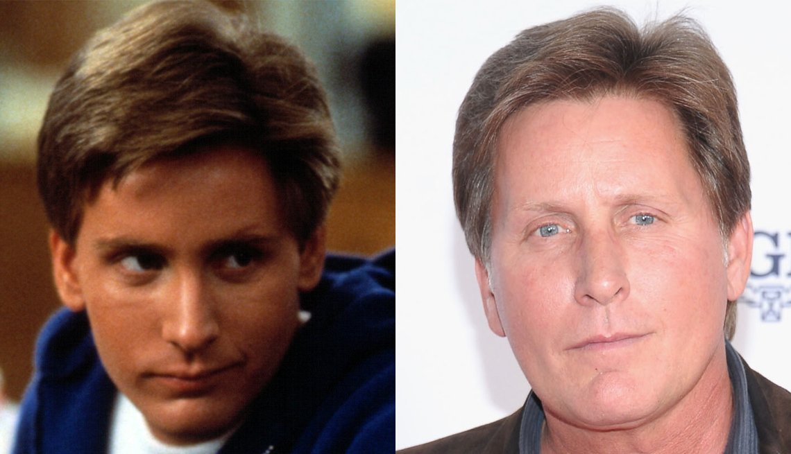 Emilio Estevez, Actor, The 80s, The Brat Pack Then And Now