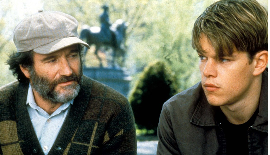 Good Will Hunting, Robin Williams, Matt Damon, Robin Williams Best Roles