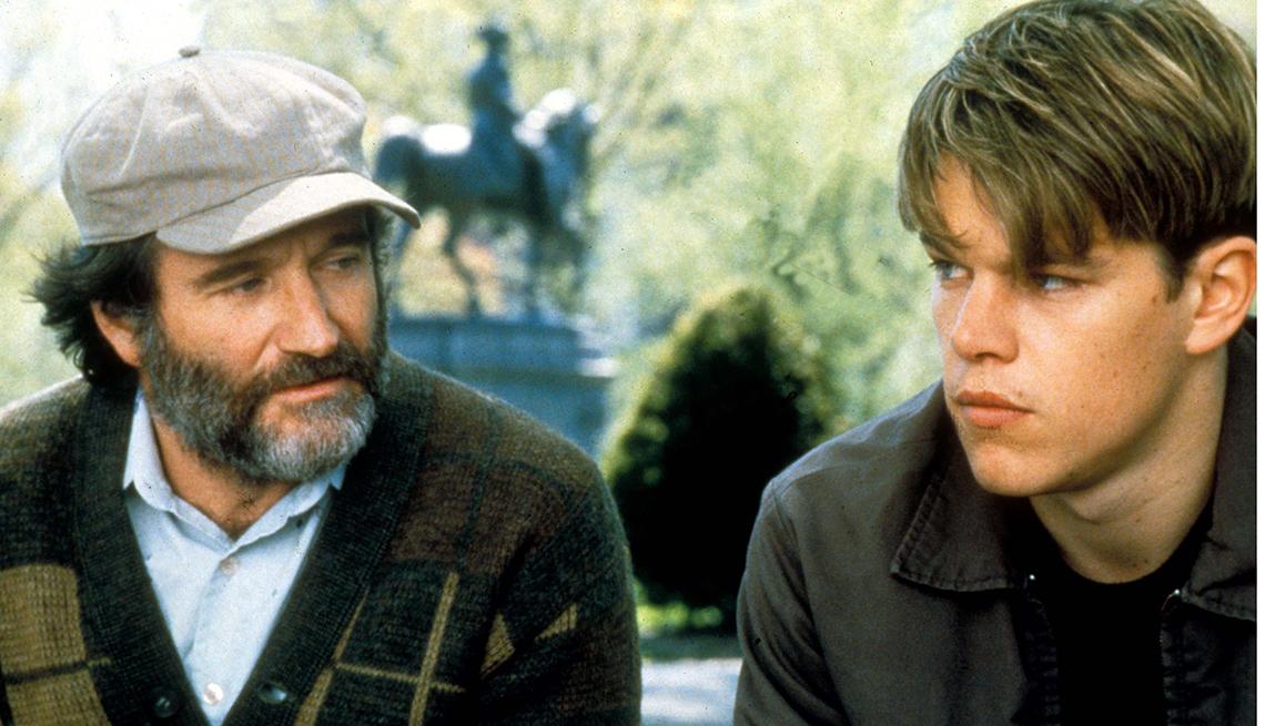 Good Will Hunting, Robin Williams, Matt Damon, Robin Williams Best Roles