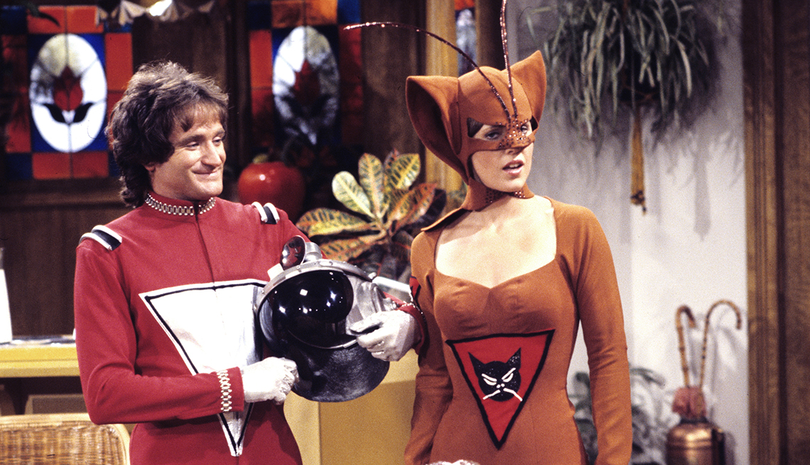 Mork and Mindy, Television Show, Pam Dawber, Robin Williams, Robin Williams Best Roles