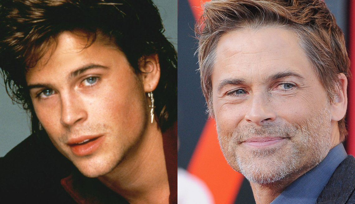 Rob Lowe, Actor, Portrait, The Brat Pack Then And Now