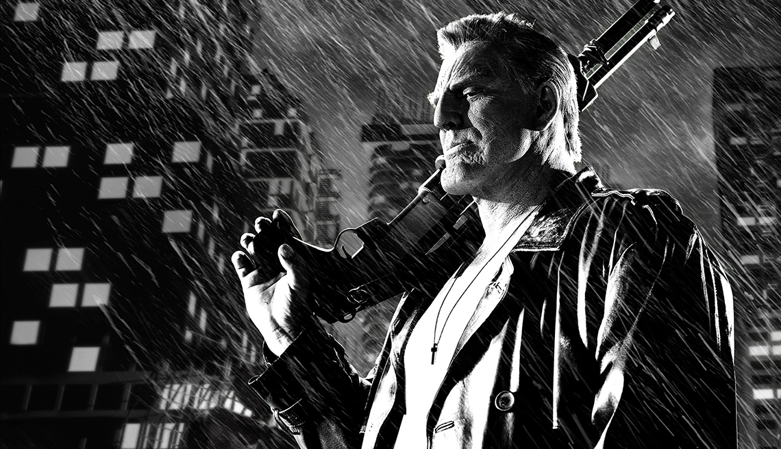 """Mickey Rourke, """"Sin City: A Dame to Kill For"""", Bruce Willis"""