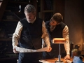 Jeff Bridges and Brenton Thwaites star in The Giver.