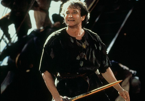 Hook, 1991. Robin Williams: 10 Unforgettable Roles.