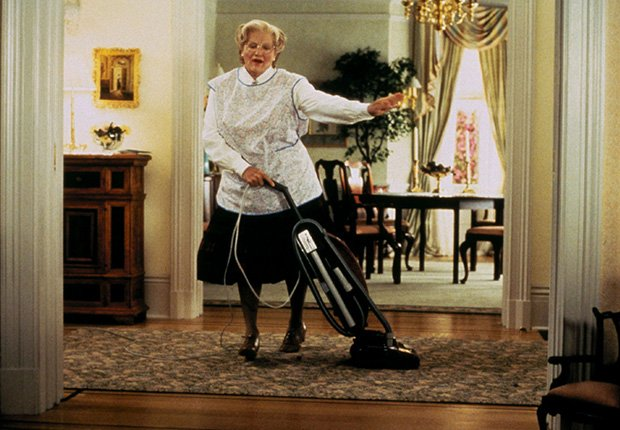 Mrs. Doubtfire, 1993. Robin Williams: 10 papeles inolvidables