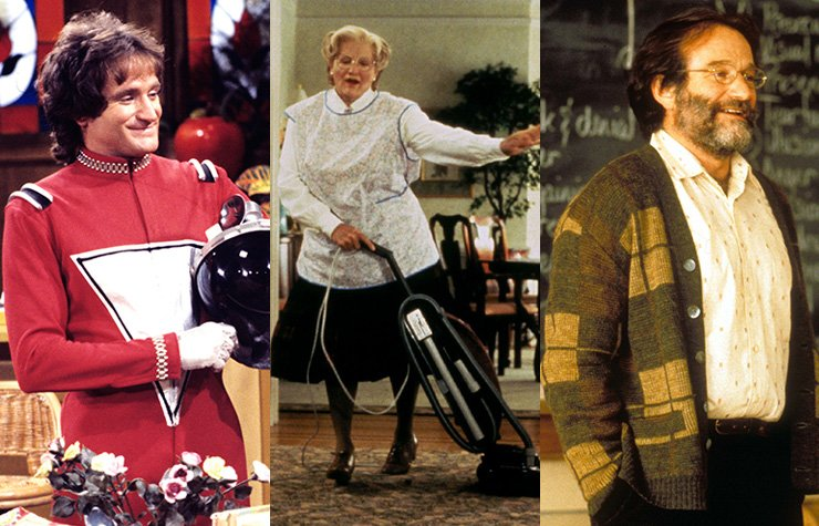 Robin Williams - 10 papeles inolvidables