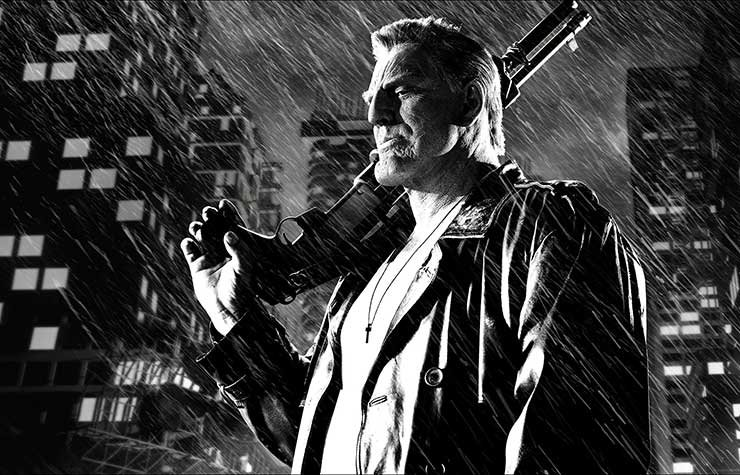 Mickey Rourke Stars in Sin City: A Dame to Kill For.