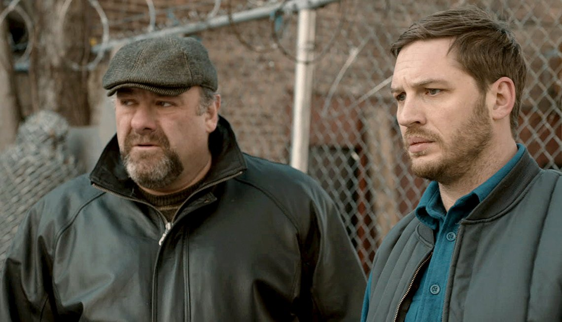 James Gandolfini, Tom Hardy, The Drop, movie review