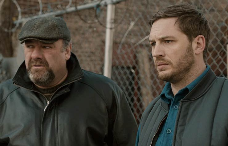 James Gandolfini and Tom Hardy Star in The Drop.