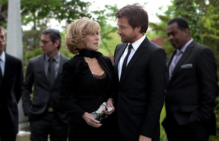 Jane Fonda and Jason Bateman Star in This is Where I Leave You.