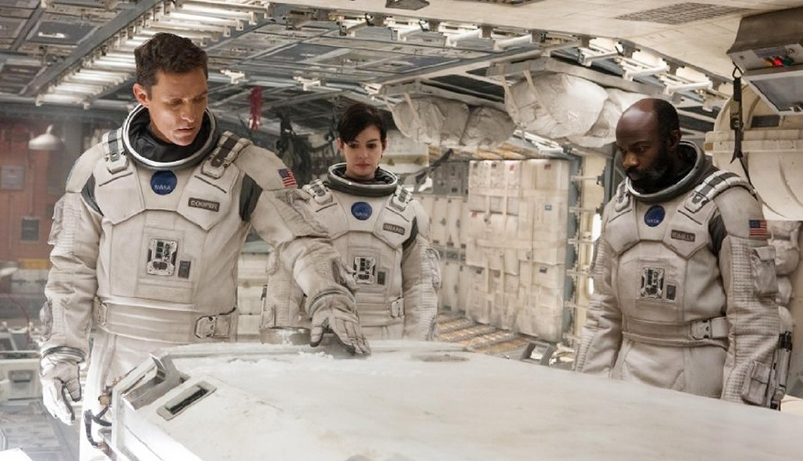 Matthew McConaughey, Anne Hathaway, David Oyelowo, Interstellar, movie review