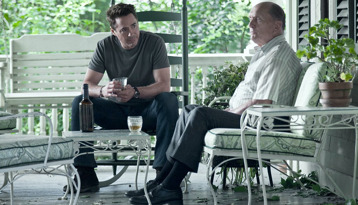 Robert Downey Jr., Robert Duvall, The Judge, movie review