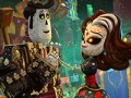 Diego Luna como Manolo y Ana de la Reguera como su mamá participan como elenco de voz en la película animada The Book of Life.