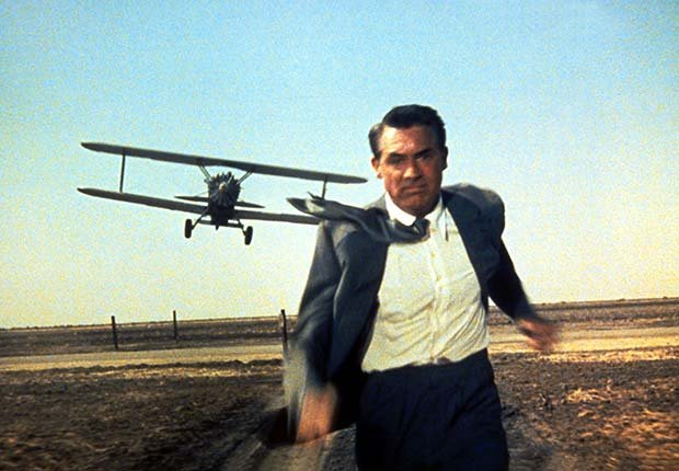 North by Northwest, una película clásica de Alfred Hitchcock