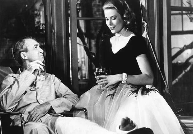 Rear Window, una película clásica de Alfred Hitchcock