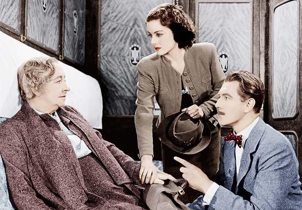 The Lady Vanishes, una película clásica de Alfred Hitchcock