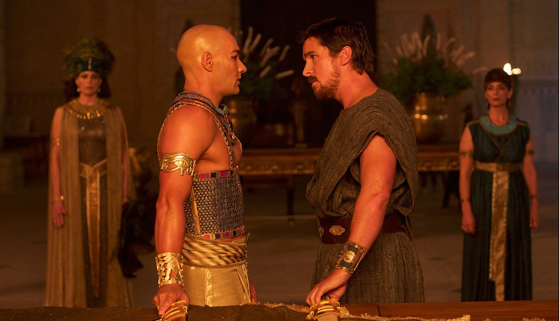 Movie, Exodus, Christian Bale, Joel Edgerton, Actors, Holiday 2014 Movie Preview