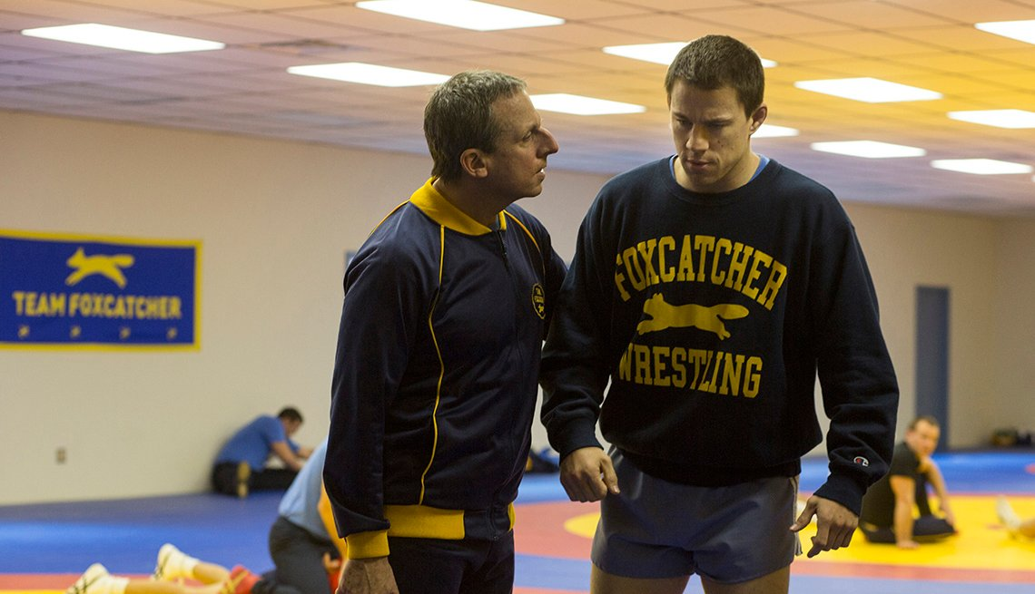 Foxcatcher Movie, Channing Tatum, Steve Carrell, Actor, 2014 Holiday Movie Preview