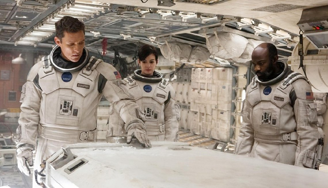 Interstellar Movie, Matthew McConaughey, Anne Hathaway, David Oyelowo, Actors, Space, Astronauts, Spaceship, 2014 Holiday Movie Preview
